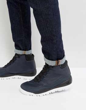 The North Face Edgewood 7 Leather Walking Boot in Navy