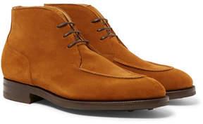 Edward Green Halifax Suede Chukka Boots