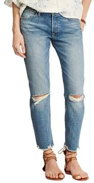 Denim & Supply Ralph Lauren High Rise Tapered Jeans.