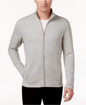 Alfani Men's Textured Zip-Front Jacket, Created for Macy's
