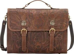 American West Stagecoach Briefcase (Women's)