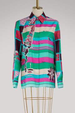 Emilio Pucci Florida printed silk shirt