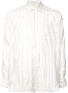 Our Legacy Borrowed Classic striped shirt