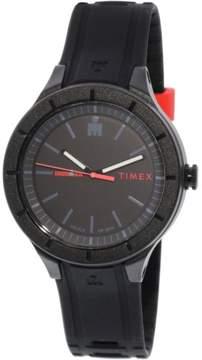 Timex Men's Ironman Essential TW5M16800 Black Silicone Analog Quartz Dress Watch