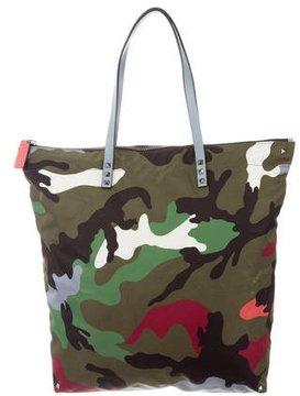Valentino Rockstud Camouflage Tote