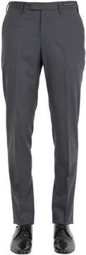 Pt01 18cm Stretch Wool Flannel Pants