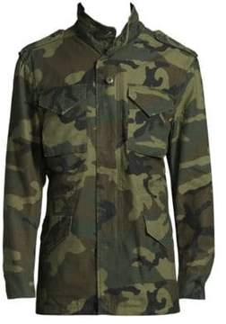 Alpha Industries M65 Defender Camouflage Field Jacket