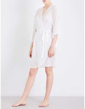 Eberjey Love Always lace robe