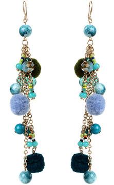 Amrita Singh Blue & Teal Cubana Earrings
