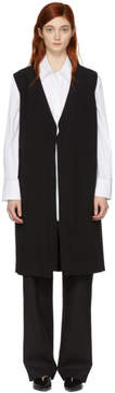 Sara Lanzi Black Tie Long Vest