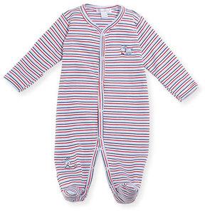 Kissy Kissy Pup Paw-trol Striped Footie Pajamas, Size Newborn-9M