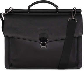 Kenneth Cole Reaction My Rod-Ern Life Leather Dual-Compartment Computer Portfolio Bag