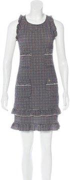 Chanel Checkered Seersucker Dress