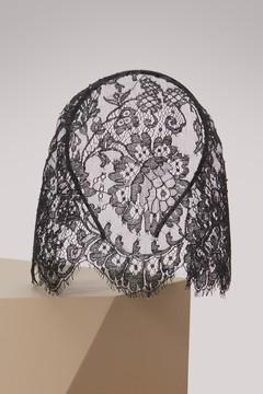 Maison Michel Val veil headband