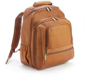 Royce Leather Royce Tan Colombian Leather 15 Laptop Backpack