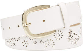 INC International Concepts I.n.c. Perforated Flowers & Butterfly Belt, Created for Macy's