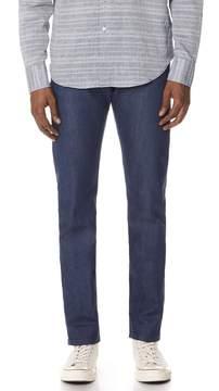 Naked & Famous Denim Workman Blue Selvedge Jeans