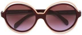 Emilio Pucci round shaped sunglasses