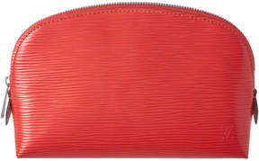 Louis Vuitton Coquelicot Epi Leather Cosmetic Pouch