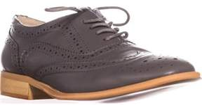 Wanted Babe Lace Up Oxfords, Grey.