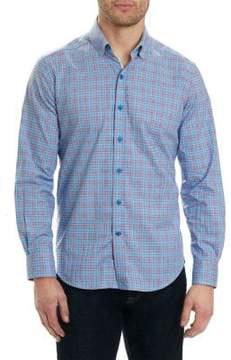 Robert Graham Tartan Patterned Shirt