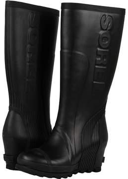 Sorel Joan Rain Wedge Tall Women's Rain Boots