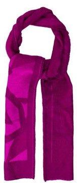 Emilio Pucci Wool & Silk-Paneled Scarf