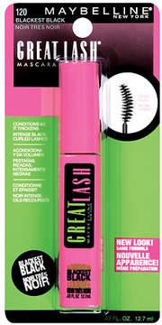 Maybelline Great Lash Curved Brush Washable Mascara