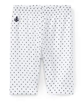 Ralph Lauren | Polka-Dot Cotton Batiste Pant | 18-24 months | Black