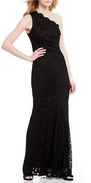 Decode 1.8 One Shoulder Lace Gown