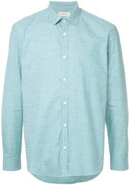 Cerruti tonal checked shirt