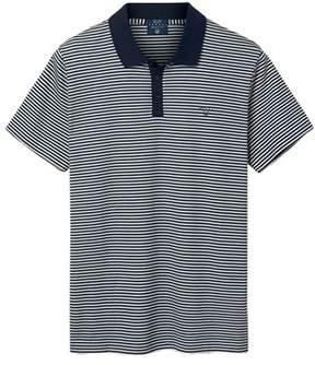 Gant Men's Grey Cotton Polo Shirt.