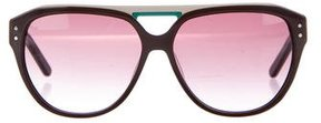 Just Cavalli Colorblock Aviator Sunglasses