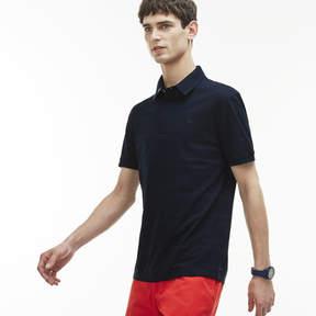 Lacoste Men's Slim Fit Striped Mercerized Cotton Polo Shirt