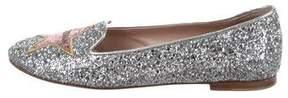 Chiara Ferragni Glitter Embellished Loafers