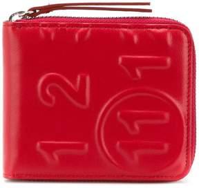 Maison Margiela all around zip wallet