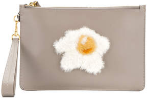 Anya Hindmarch egg zip clutch