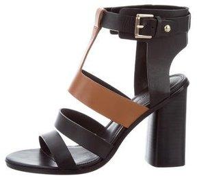 Sigerson Morrison Bicolor Gladiator Sandals