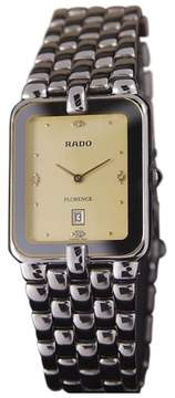 Rado Florence Swiss Made Stainless Steel Quartz 27mm Mens Luxury Watch c1990