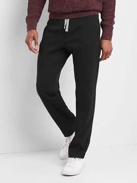 Gap Double-knit pintuck pants