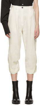 Ann Demeulemeester Off-White Harbour Trousers