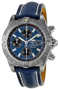 Breitling Galactic Chronograph II Automatic Blue Dial Men's Watch