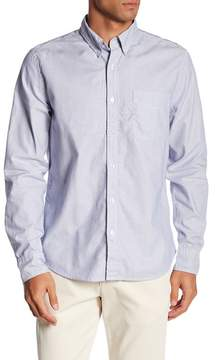 Save Khaki Oxford Button Down Collar Regular Fit Shirt