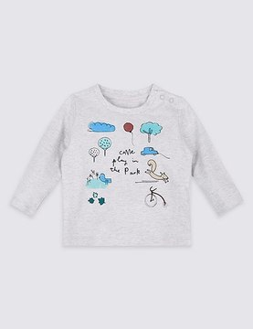 Marks and Spencer Come Play in the Park Pure Cotton Top