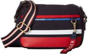 Tommy Hilfiger Classic Tommy Camo Horizon Stripe Canvas Crossbody