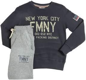 Fred Mello Cotton Sweatshirt & Sweatpants