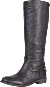 BCBGeneration Womens Shania Leather Closed Toe Mid-Calf
