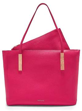 Ted Baker SOFT GRAIN LARGE ZIP TOTE