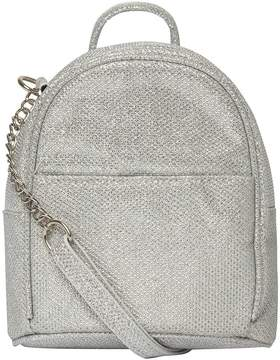 Silver Mini Cross Body Bag