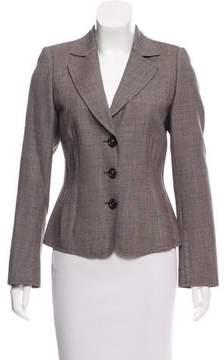 Akris Structured Tweed Blazer